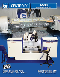 A590 5-axis CNC Machining Center Brochure