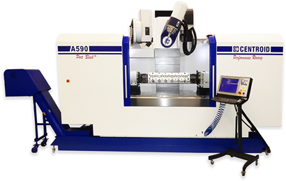 5 axis cnc machining center A590